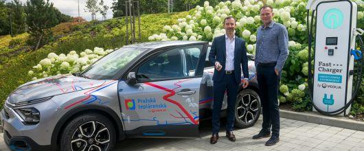 Zaměstnanci Pražské teplárenské budou využívat elektromobil Citroën ë-C4